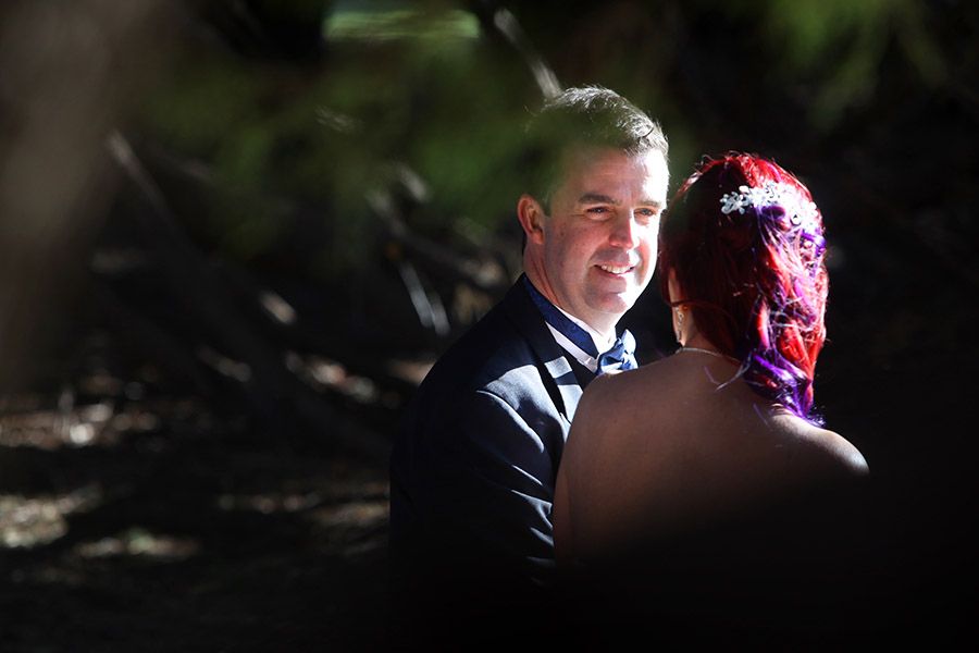 Creative wedding photography. Canberra ACT.