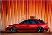Subaru WRX MY00 Wagon with aftermarket power